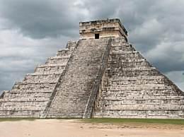 墨西哥现玛雅遗址 1000多年前玛雅上居住过