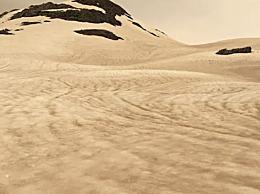 冰川因澳洲山火变焦糖色 网友;远看像咖啡浮沫