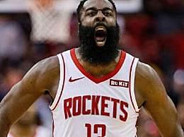 哈登三双 全场砍下44分11个篮板和11次助攻