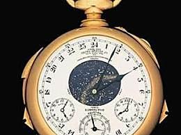 世界最昂贵十款手表 世界十大名表排行榜