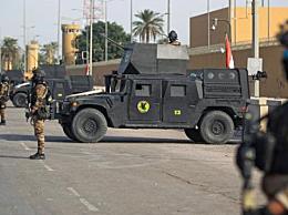 """伊拉克首都遭袭击 """"喀秋莎""""火箭弹落在巴格达市""""绿区"""""""