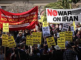美国爆发反战游行 高呼:美国撤出中东