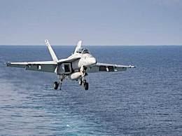 美军航母逼近伊朗 舰载战斗机密集出动局势紧张