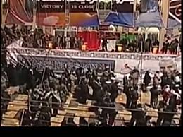 苏莱曼尼正式安葬故乡 送葬队伍庞大致近300人伤亡