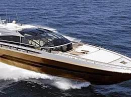 世界上最贵的游艇 一万公斤黄金打造306亿人民币