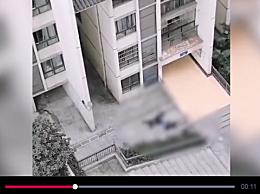 重庆一男子跳楼砸中路人 三十多岁男子楼下打电话被砸中