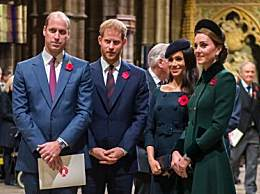 威廉哈里兄弟决裂 威廉王子首发声疑似与哈里断绝关系