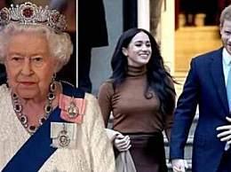 女王支持哈里决定 支持哈里夫妇开启新生活