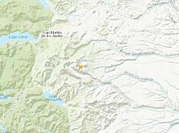 阿根廷发生5.3级地震 中心震源深度高达162.9公里
