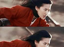 刘亦菲马上翻跟头 亲自上阵翻跟头太飒了