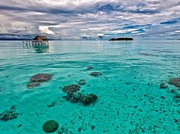 海平面上升印尼2座小岛消失 目前已分别在海平面之下1米和3米