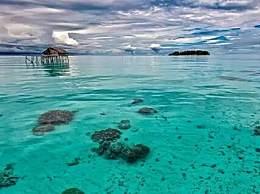 海平面上升印尼2座小岛消失 全球升温影响加剧