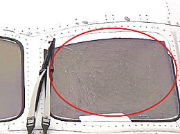 日航波音787驾驶舱玻璃开裂 玻璃开裂的具体原因还在调查中