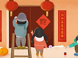 春节为什么要贴福字贴倒福?春节贴福字的寓意和由来讲究