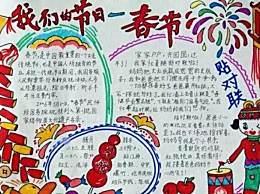 春节手抄报怎么画