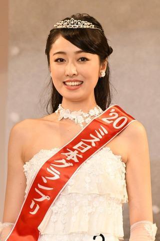2020日本小姐冠军出炉 21岁名校学霸从2525人中脱颖而出