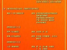 2020年央视春晚节目单公布