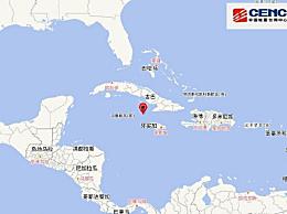 古巴7.7�地震�]有引�l海�[的危�U 墨西哥多城市震感明�@