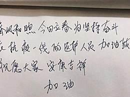 李晨接力声援防疫 迪丽热巴为武汉加油