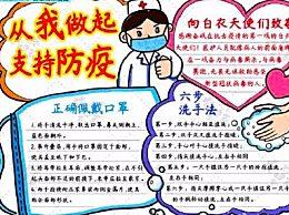 抗击新型肺炎小学生手抄报大全 新型冠状肺炎疫情手抄报图片简单