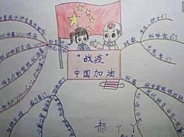 小学生武汉加油简单手抄报 预防新型冠状病毒主题手抄报