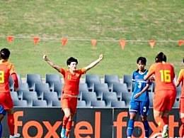 女足提前小组出线 5:0击败中国台北