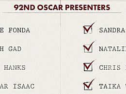 奥斯卡红毯最新颁奖嘉宾揭晓 汤姆・汉克斯双身份出席