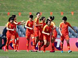 奥预赛女足提前小组出线 中国女足5-0大胜中国台北女足赛事详情