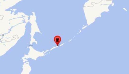 日本7.0级地震 千岛群岛7.0地震震源深度150千米