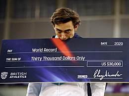 杜普兰蒂斯新纪录 杜普兰蒂斯6.18米破撑竿跳世界纪录