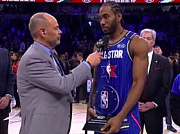 莱昂纳德获科比MVP奖 NBA全明星致敬科比