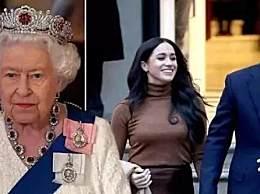 哈利梅根退出王室时间 殿下头衔不会再继续使用