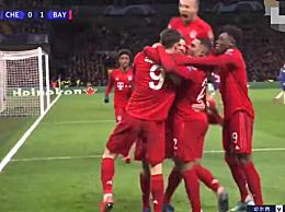 欧冠:拜仁3-0击败切尔西 那不勒斯主场战平巴萨