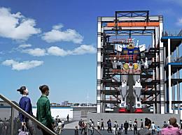 世界上最大的智能机器人 重达25吨