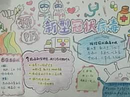 小学生预防病毒为疫情加油手抄报