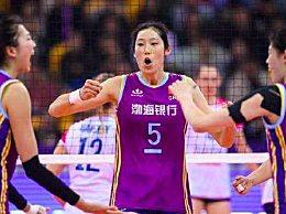 朱婷荣获女排超级联赛MV 女排联赛最佳阵容一览