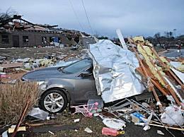 龙卷风袭击美国已致25人死亡 美国田纳西州损失惨重