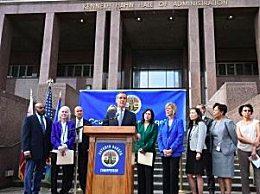 洛杉矶宣布进入紧急状态 当地已确诊7例感染病例
