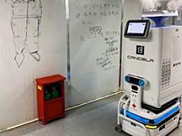 雷神山机器人上岗 减轻医护人员工作负担且不易交叉感染