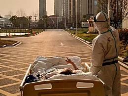 2020最治愈的瞬间 医护与87岁老人欣赏落日余晖