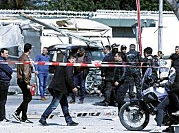 美国突尼斯爆破袭击 造成袭击者和5名安全人员受伤