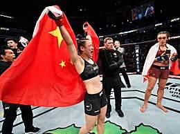 UFC张伟丽成功卫冕 张伟丽卫冕金腰带