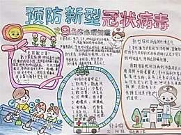 小学生新冠病毒疫情主题手抄报 战胜病毒中国加油武汉加油祝福语