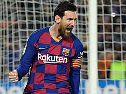 梅西进球数超c罗 成为五大联赛历史射手王