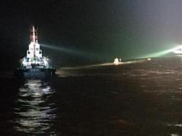 东海两轮船遇险专业救助船前往救助 已有7名船员获救3人失踪