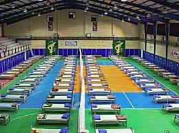 伊朗建方舱医院 设立200个隔离床位