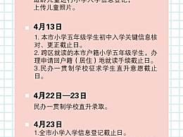 上海升学新政 小学初中入学一律对口或摇号