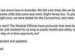 汤姆汉克斯夫妇感染新冠肺炎 在澳洲拍摄新片时感染