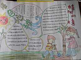 植树节手抄报内容50字 植树节手抄报带字的很少内容50个字
