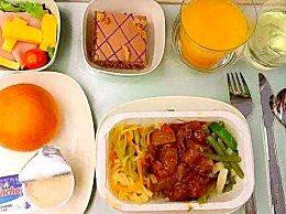 国航部分航班停餐 只提供包装食物和水
